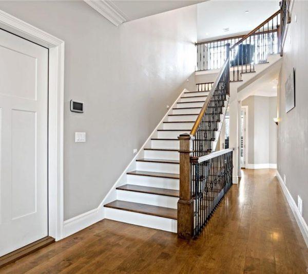 519 Cedar Ridge stairwell